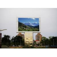 China High Resolution Led Video Display Screen / Outdoor LED Billboard 1R1G1B SMD P8 wholesale