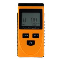 China GM3110 Anti-static Data Handheld Accurate  Surface Resistance Meter Earth Resistance Meter LCD Display Ohm Meter wholesale