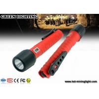 China 10W lithium ion battery explosion proof  torch , high power rechargeable LED flashlight on sale