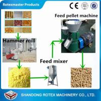 China Small Scale Poultry Feed Small Pellet Mill Animal Feed Pellet Production Line wholesale