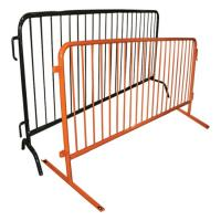 China Easy Installation Metal Fence Accessories Temporary Construction Guardrails wholesale