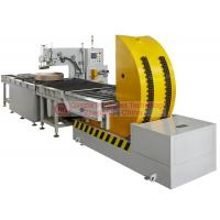 Waterproof Horizontal Coil Wrapping Machine Touch Type Man - Machine Interface Display