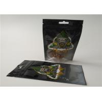 China THC Resealable Herbal Incense Packaging , Plastic Zipper Bags For Pill Packaging wholesale