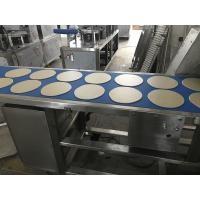 China Fully Automatic Flat Bread Production Line Siemens PLC System With Touch Screen wholesale