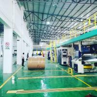 China China modern Fully Automatic 5 ply Corrugated cardboard production line Auto Splicer Double Slitter Scorer on sale
