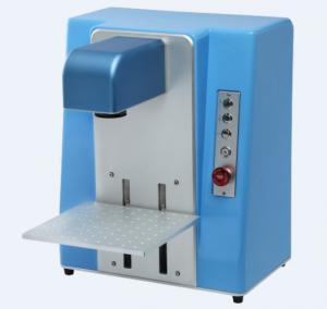 China Mini Desktop 20W Fiber Laser Marking Machine High Repeat Positioning Accuracy wholesale