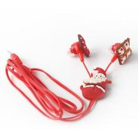 China Selling pvc,silicone rubber material high quality mp3 ear earphone promotional gifts wholesale