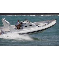 China 9.6m Orca Hypalon Inflatable Rib Boat Rib960B  With Cabin Console / Large Sunbed wholesale