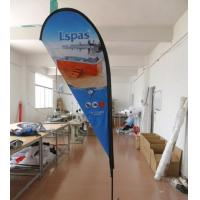 China 10 FT Outdoor Advertising Teardrop Flag Banners on sale