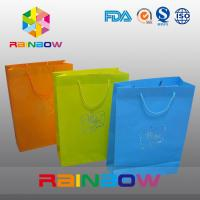 China Promotion Cutom Color Printing Customized Paper Bags / Gift Bag grease proof paper bag wholesale