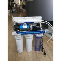 China Residential Reverse Osmosis Water Filtration System Under - Sink Manual Flush on sale