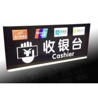 China Supermarket Checkout Counter Led Directional Signs With Ceiling Hanging Design wholesale