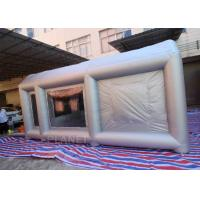 China 6m Long  Inflatable Spray Paint Tent With PVC Tarpaulin Or Oxford Cloth Material wholesale
