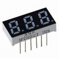 """China 0.3"""" 7-segment Numeric LED Display with 3 Digits for Controller Display wholesale"""