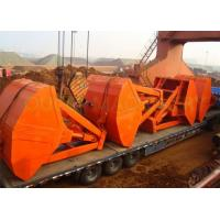 China Tailor Made Wireless Radio Remote Control Grab , Steel Clamshell Grab Bucket For Barge wholesale