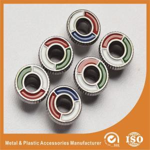 China Shiny Enamel Zinc Ring Eyelet Decoration Metal Shoe Buckles Customization wholesale
