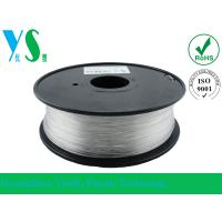China PETG 3.0mm Transparent with 3d printing filament for 3d Material makebot wholesale