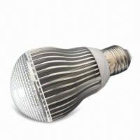 China LED Bulb Light with 175 to 240V AC Voltage and E27 Lamp Cap, Measures 60 x 107mm wholesale