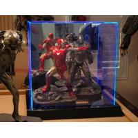 China Transparent Acrylic Display Holders Box With Led For Torys wholesale