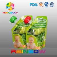 China Eco Baby Spout Pouch Packaging For Liquid / Stand Up Liquid Juice Pouch wholesale