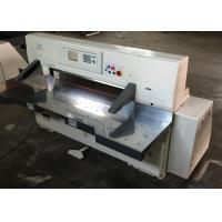 China professional paper cutter guillotine paper trimmer stack paper cutter wholesale