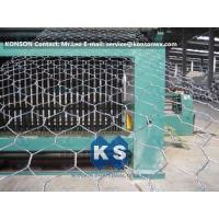 China Automatic Hexagonal Wire Netting Production Line Heavy Duty Gabion Mesh Machine wholesale