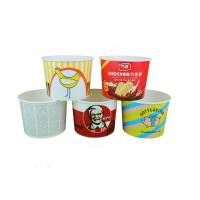 China Individual Paper Popcorn Containers For Party , Reusable Popcorn Bucket wholesale