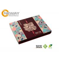China Luxury Folding Paper Carton Packing Box Fashion OEM Design Color Printing wholesale