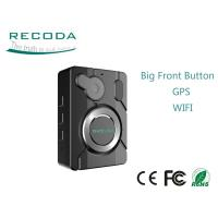 Buy cheap Big Recording Button IP 67 Police Wearing Body Cameras With Gps Wifi Optional from wholesalers