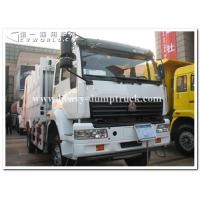 China Sinotruk golden prince 6 x4 heavy card 300 hp tractor head / prime mover for pulling Bulk cement tank trailer wholesale