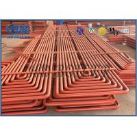 China Pendant Type Coils Boiler Superheater & Reheater With Claps Ovality And Thickness Both Less Than 15% wholesale