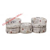 China Leisure fabric Lounge chair and Ottoman set in Mediterranean Style Furniture wholesale