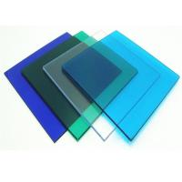 China Anti Uv 4 * 8ft Clear Polycarbonate Sheet With High Light Transmission on sale