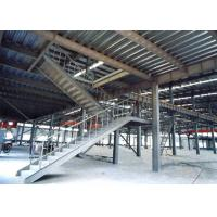 China Heavy Pre Engineered Prefabricated Steel Stairs Earthquake Proof Energy Saving wholesale