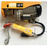 China 1000kg Electric Wire Rope Hoist With Small Button Control Pa200 Pa500 Pa1000 on sale