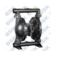 Quality Air Operated Double Diaphragm Pump Teflon / Rubber For Oil Paint for sale