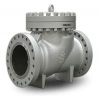 China 600lb Pressure WC9 Body Swing Check Valve Protect The Integrity Of Upstream Equipment wholesale