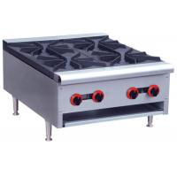 China Commercial Restaurant Cooking Equipment Table Top Gas Stove With 1 / 2 / 4 / 6 Burners wholesale