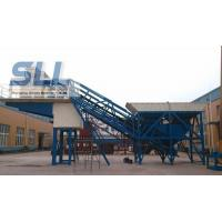 China Small Scale Building Mobile Concrete Batching Plant OEM / ODM Available wholesale