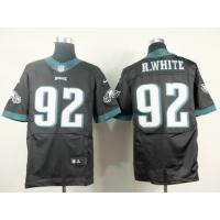 China supply nike nfl philidelphia eagles 92 R.White elite jersey wholesale