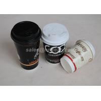 China Eco Friendly 12oz Double Wall Paper Cup With Lid Takeaway For Hot Drinking wholesale