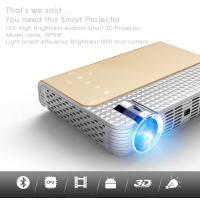 China simplebeamer GP5W 3D led Projector 1800 lumens with Android 4.44 OS,wifi Smart projector Bluetooth exceed mini projector wholesale