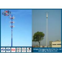 China Telescopic Microwave Antenna Mobile Cell Phone Tower with Powder Coating on sale