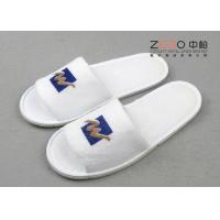 Quality ZEBO Terry Fabric Hotel Disposable Slippers For Guests Comfortable for sale