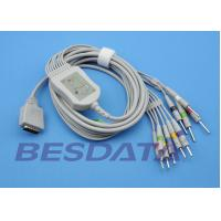 Quality Nihon Kohden Cardiofax EKG ECG Cables And Leadwires 10 Leads / 12 - Channel Electrocardiogram for sale