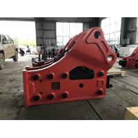 China 10-16 Ton Sany Hydraulic Breakers For Excavators , High Efficiency Skid Steer Hydraulic Hammer wholesale