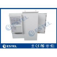 Buy cheap 27U Air Conditioner Cooling Outdoor Control Cabinet Galvanized Steel Double Wall from wholesalers