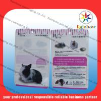 China Customized Plastic Pet Food Pouch For Cats , Birds And Fish wholesale