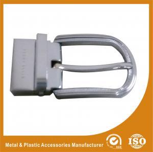 China 3.5CM Reversible Belt Buckle Mens Silver Belt Buckle Replacement wholesale