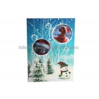 China Lenticular Custom 3d Stickers With Offset Printing For Greeting Card wholesale